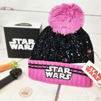Bonnet Star Wars avec pompon pour enfant