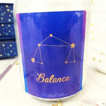 Bougie Astrologie - Balance