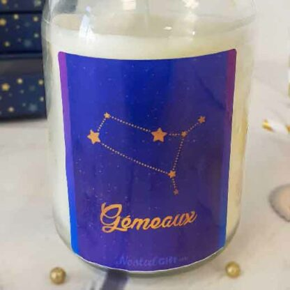 Bougie Astrologie - Poissons