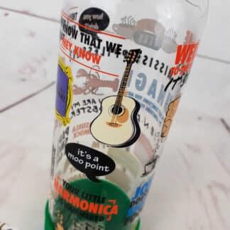 Friends - Bouteille d'eau en verre