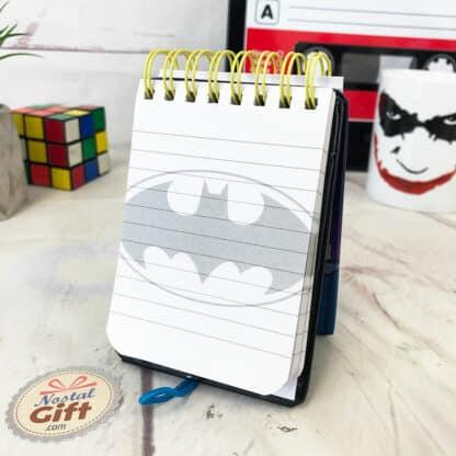 Petit cahier spirale  - Batman (Sur le toit)
