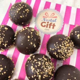 Chocolat noir belge Ghandi (15 gr ) x 10