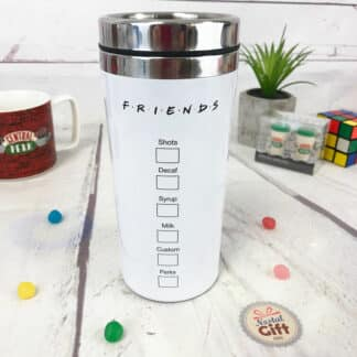 Mug de transport Friends - Central Perk blanc