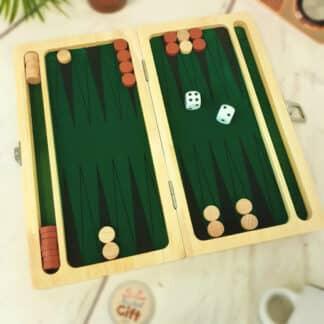 Jeu de société - Jeu Backgammon (Goki)