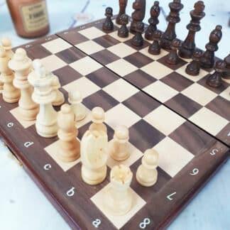 Jeu de société - Jeu d'échecs magnétique (Goki)
