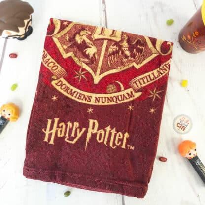 Harry Potter - Poncho de bain à capuche Poudlard