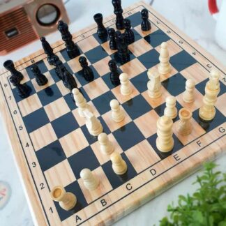 Jeu de société - Jeu d'échecs en bois