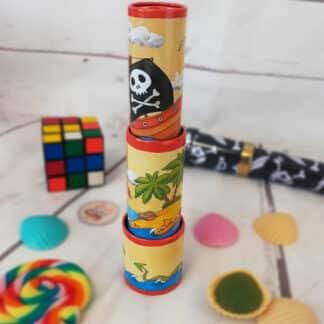 Kaléidoscope rotatif pirates 25 cm (Goki)