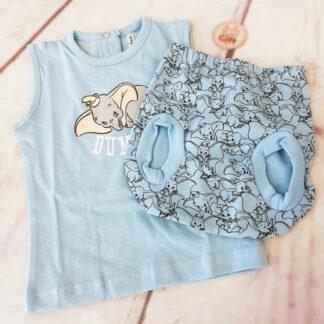 Disney - Ensemble vêtement Dumbo bleu pour bébé