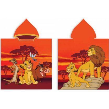 Le Roi Lion - Poncho de bain à capuche