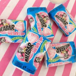 Chewing-gum Malabar Multifruits x 5