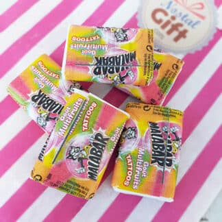 Chewing-gum Malabar Multifruits x 5