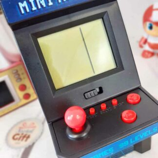 Mini Machine Arcade rétro - 26 jeux et 99 niveaux