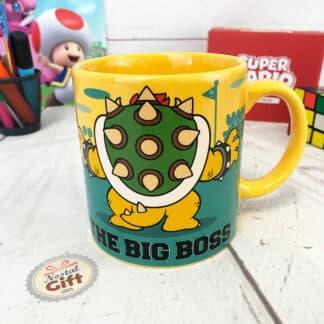 """Super Mario- Mug géant Bowser """" The Big Boss"""""""