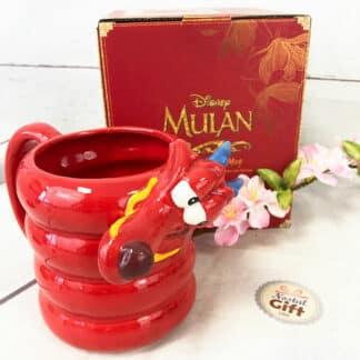 Mug Disney 3D Mulan - Dragon Mushu