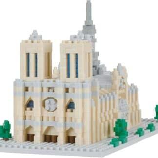 Nanoblock -  Notre Dame Cathédral - Monument à monter