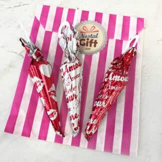 Parapluie au chocolat Saint Valentin x3
