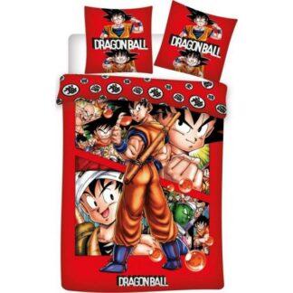 Dragon Ball - Parure/Housse de lit 100% Coton (140 x 200 cm)