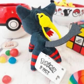Pokémon - Peluche porte-clés Flamiaou ( 10 cm )
