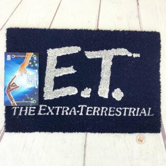 E.T l'extraterrestre - Paillasson bleu (40 x 60 cm)