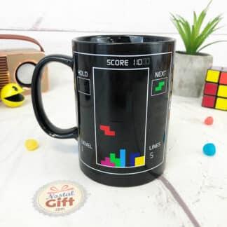 Mug thermoréactif Tetris