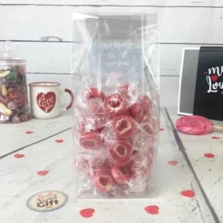 """Sachet de bonbon rock cœur x 40 - """" Bonbons pour son amoureux """""""