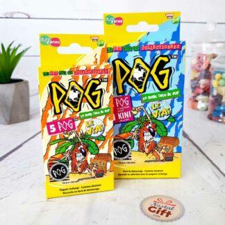 Jeu POG - Booster série 2 avec 5 POG