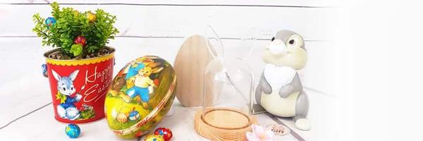 Êtes-vous  à la recherche d'une déco de Pâques originale, vous êtes ici au bon endroit car avec notre sélection de déco de Pâques, vous trouverez tout ce que vous recherchez pour faire une déco de Pâques originale.