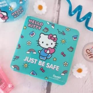 Hello Kitty - Boîtier à masques vert