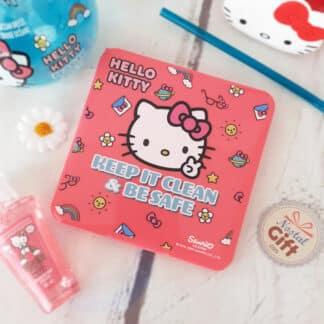 Hello Kitty - Boîtier à masques rose