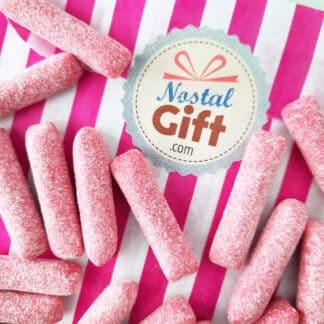Bonbon craie / bonbon Hitschies acidulé goût fraise x 20
