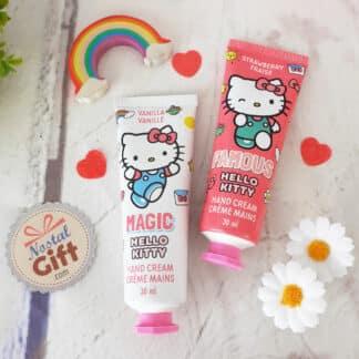 """Hello Kitty - Crème mains Parfum Vanille """"Magic"""""""