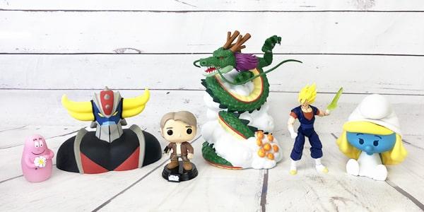 Retrouvez dans cette catégorie notre sélection de figurines, tirelires rétro et vintage. Des figurines Funko Pop aux tirelires Harry Potter, venez retrouvez vos héros de l'époque avec nos figurines et tirelires. Pour de la décoration ou par passion, nos figurines sont parfaites pour tous les besoins.