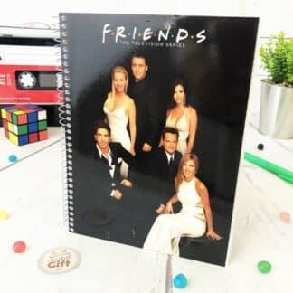 Friends - Cahier A5 noir personnages