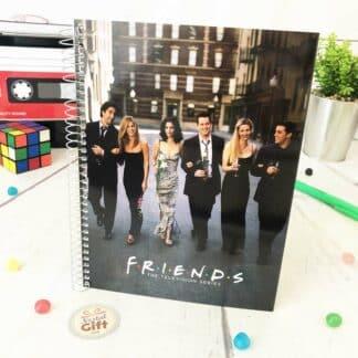 Friends - Cahier A5 personnages en ville