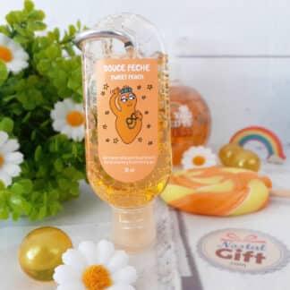 Barbapapa - Gel désinfectant hydratant pour les mains parfum fraise