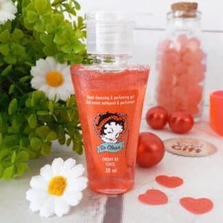 Gel désinfectant hydratant pour les mains - Betty Boop - Parfum lavande
