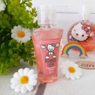 Gel désinfectant hydratant pour les mains - Hello Kitty - Parfum fraise