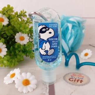 Snoopy - Gel désinfectant hydratant pour les mains parfum brise océane