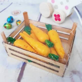 Jeux en bois - Cagette de carottes Goki