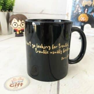 Harry Potter - Mug noir citation