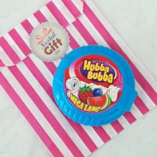 Hubba Bubba - Chewing gum à dérouler (Framboise)