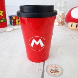 Mug de transport Super Mario Champignon (390 ml)