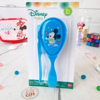 Disney - Set brosse à cheveux et peigne Mickey pour bébé