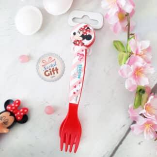 Disney - Set de couverts rouge Minnie