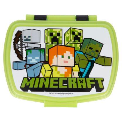 Boîte à goûter/ déjeuner - Minecraft