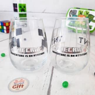 Minecraft - Lot de 2 verres