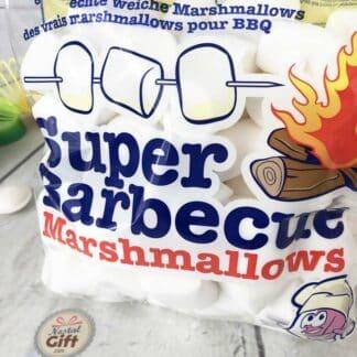 Sachet guimauve blanche pour barbecue (500 g)