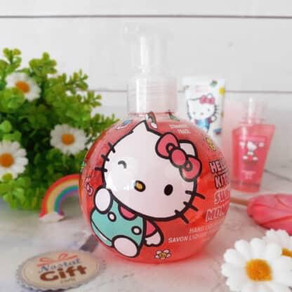 Savon liquide pour les mains - Hello Kitty - Parfum fraise