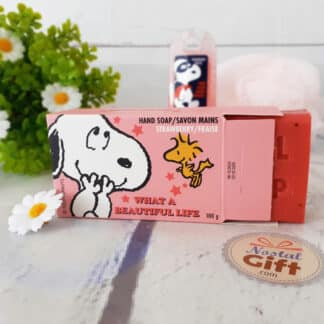 Savon pour les mains Snoopy - Parfum lavande